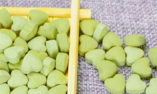 绿茶压片糖果代加工产品展示-德州健之源
