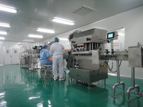 德州健之源玛咖压片生产设备图