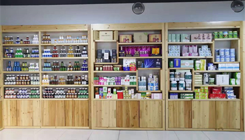 成品保健品展厅-中国德州健之源