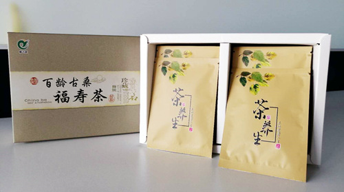 霜桑叶养生茶图片-中国德州健之源